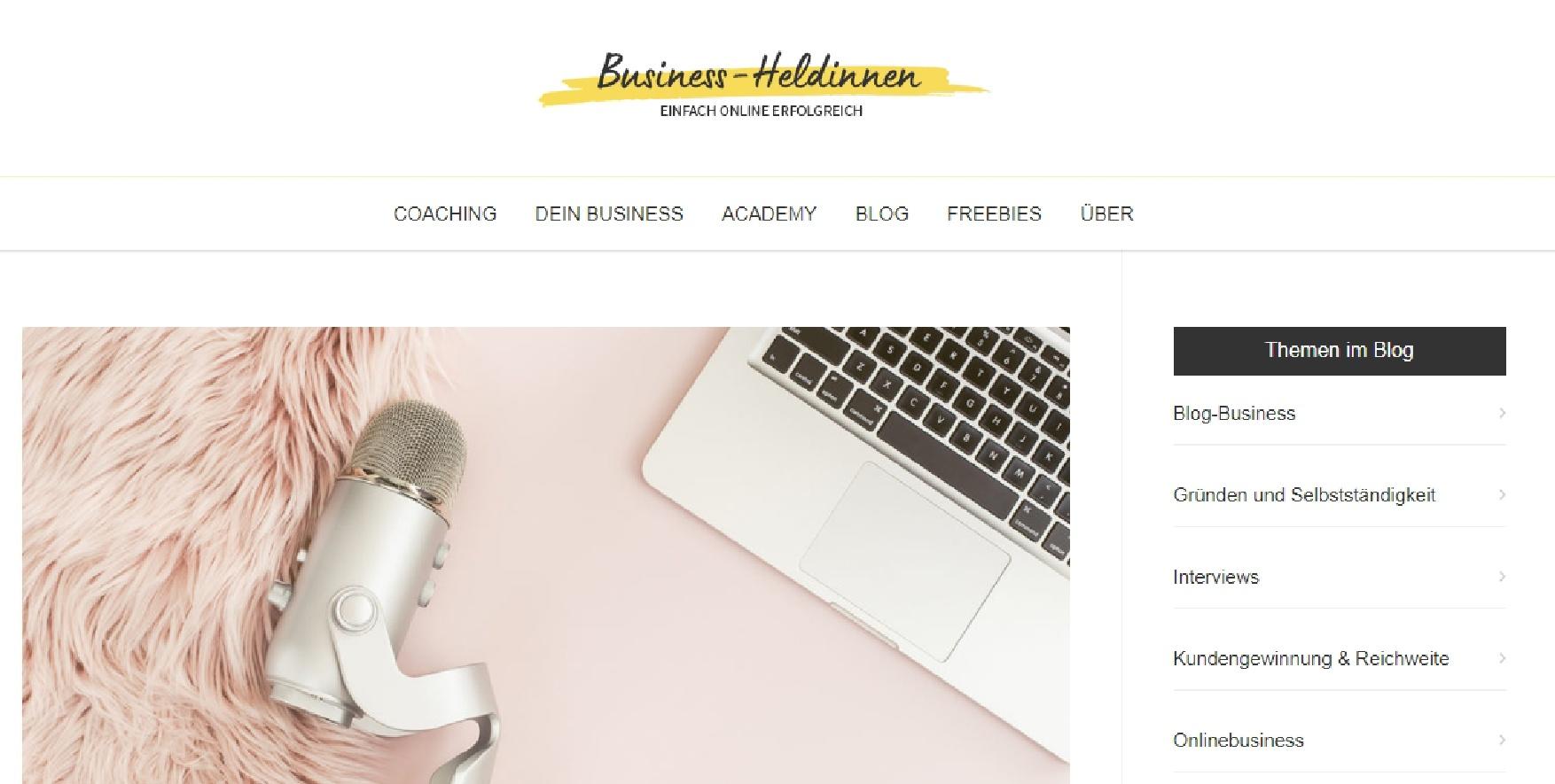 Blogartikel Finde Deine Stimme in der Online-Welt!